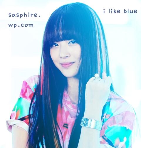 i like blue by sasphire