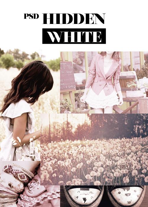 Hidden white